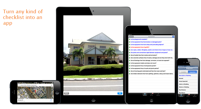 Inspection apps inspection checklist data collection for Home building apps for iphone